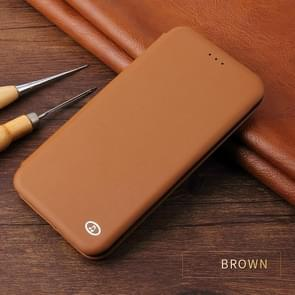 Leather Protective Case For iPhone XR(Brown)