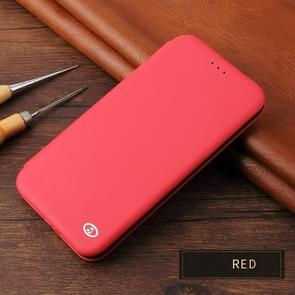 Leather Protective Case For iPhone XR(Red)