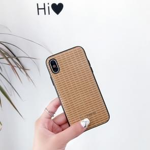 Leather Protective Case For iPhone 6 & 6s(Brown)