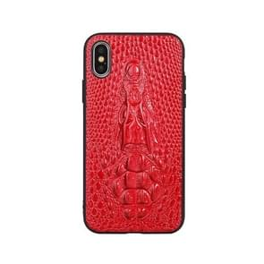 Leather Protective Case For iPhone 8 Plus & 7 Plus(Red)