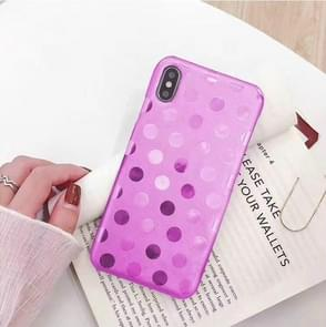 Leather Protective Case For iPhone XR(Rose Red)