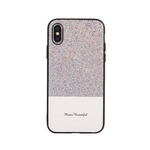 Leather Protective Case For iPhone X & XS(White)
