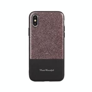 Leather Protective Case For iPhone XS Max(Black)
