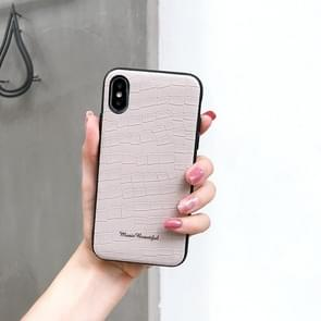 Leather Protective Case For iPhone 8 Plus & 7 Plus(White)