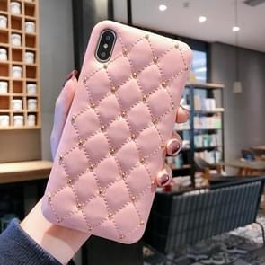 Leather Protective Case For iPhone 8 Plus & 7 Plus(Pink)