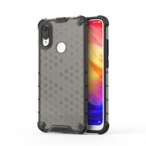 Shockproof Honeycomb PC +TPU protective For Redmi Note 7(Black)