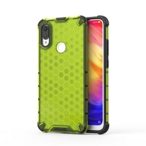 Shockproof Honeycomb PC +TPU protective For Redmi Note 7(Green)