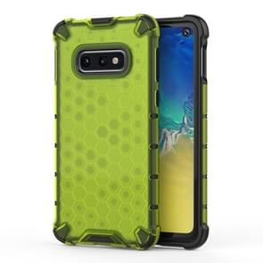 Shockproof Honeycomb PC+TPU Protective Case for Galaxy S10e(Green)