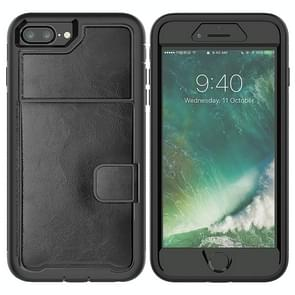 Leather Protective Case with Holder & Card Slot For Galaxy S9(Black)