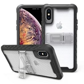 Football patternsilicone case with holder For Galaxy S10e(Transparent)