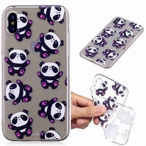 Painted TPU Protective Case For Galaxy S10(Hug Bear Pattern)
