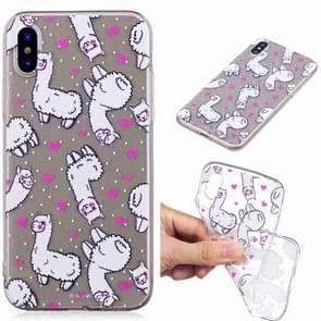 Painted TPU Protective Case For Galaxy S10e(Alpaca Pattern)