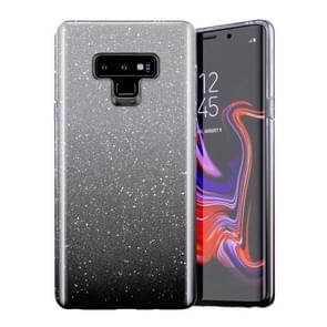 Gradual Shining Flash Sequins Glitter TPU+PC Protective Case For Huawei P30 Lite(Gradual Black)