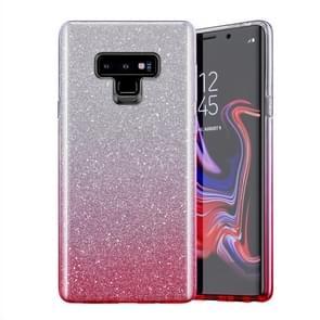 Gradual Shining Flash Sequins Glitter TPU+PC Protective Case For Galaxy S10e(Gradual Pink)
