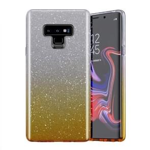 Gradual Shining Flash Sequins Glitter TPU+PC Protective Case For Galaxy S10e(Gradual Golden)
