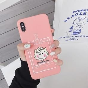 TPU beschermhoes voor iPhone 8 plus & 7 Plus (cartoon model A)