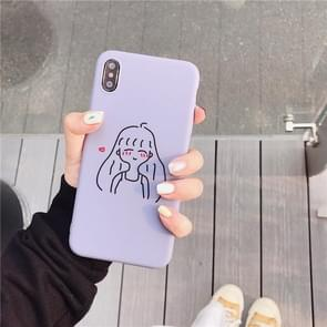 TPU beschermhoes voor iPhone 6 & 6s (cartoon model F)