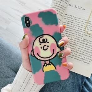 Cartoon Pattern Plastic Protective PC Case For Huawei Mate 20(Cartoon Pattern model A)