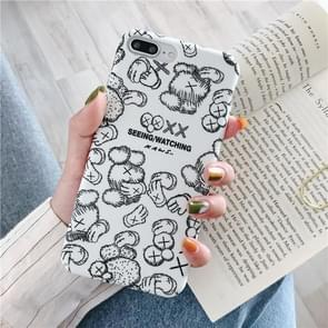 Cartoon Pattern Plastic Protective PC Case For Huawei Mate 20(Cartoon Pattern Model C)