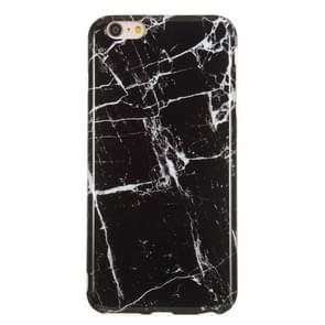 TPU beschermhoes voor iPhone 6 plus & 6s plus (zwart marmer)