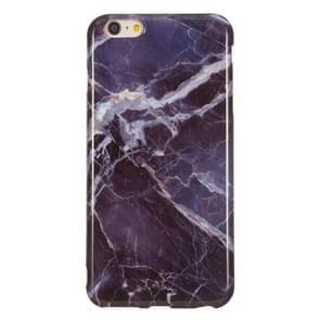 TPU beschermhoes voor iPhone 6 plus & 6s plus (grijs marmer)