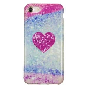 TPU beschermhoes voor iPhone 8 & 7 (rood hart)