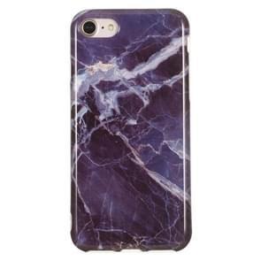 TPU beschermhoes voor iPhone 8 & 7 (grijs marmer)