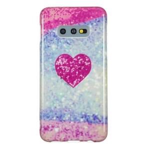 TPU beschermende case voor Galaxy S10e (rood hart)