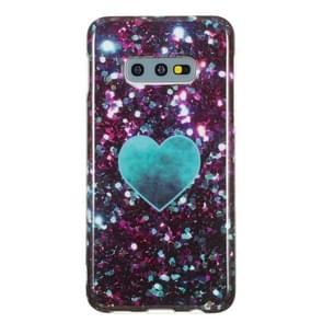 TPU beschermende case voor Galaxy S10e (groene hart)