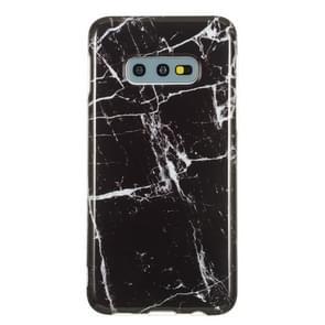 TPU beschermhoes voor Galaxy S10e (zwart marmer)