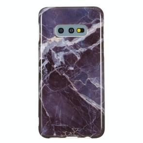 TPU Protective Case For Galaxy S10e(Gray Marble)