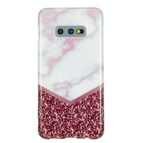 TPU Protective Case For Galaxy S10e(Rose Flash Marble)