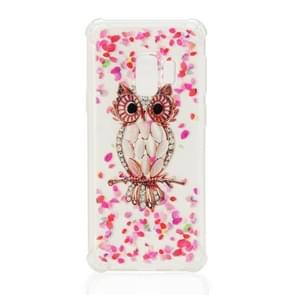 TPU Protective Case For Galaxy S9(Pink Owl)
