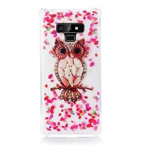 TPU Protective Case For Galaxy Note9(Pink Owl)
