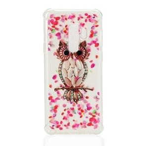 TPU Protective Case For Galaxy S9 Plus(Pink Owl)