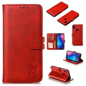 Leather Protective Case For Redmi Note 7(Red)