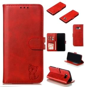 Leather Protective Case For Galaxy S8 Plus(Red)