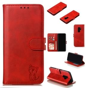 Leather Protective Case For Galaxy S9 Plus(Red)