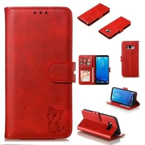Leather Protective Case For Galaxy S8(Red)