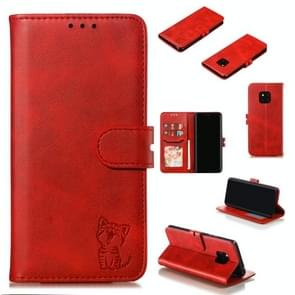 Leather Protective Case For Huawei Mate 20 Pro(Red)