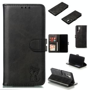 Leather Protective Case For Huawei P30 Pro(Black)