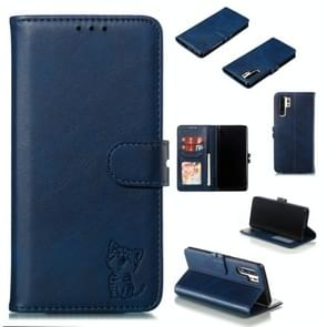 Leather Protective Case For Huawei P30 Pro(Blue)