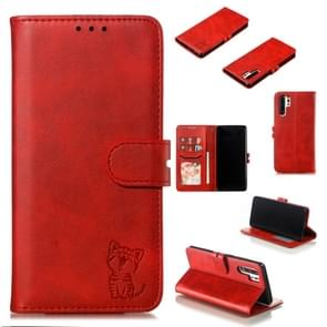 Leather Protective Case For Huawei P30 Pro(Red)