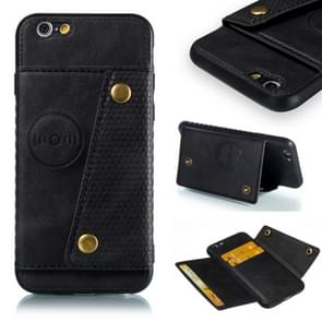 Leather Protective Case For iPhone 6 & 6s(Black)