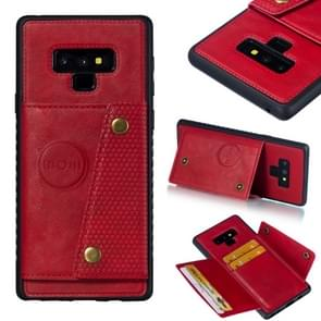 Leather Protective Case For Galaxy Note9(Red)