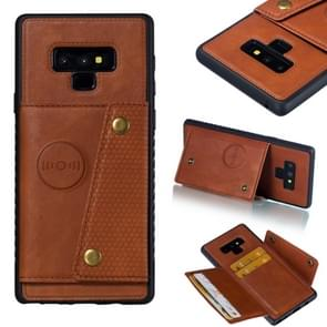 Leather Protective Case For Galaxy Note9(Brown)