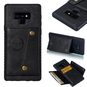 Leather Protective Case For Galaxy Note9(Black)