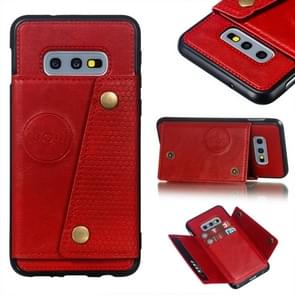 Leather Protective Case For Galaxy S10e(Red)