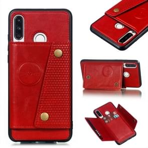 Leather Protective Case For Huawei P30 Lite(Red)