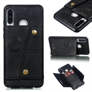 Leather Protective Case For Huawei P30 Lite(Black)